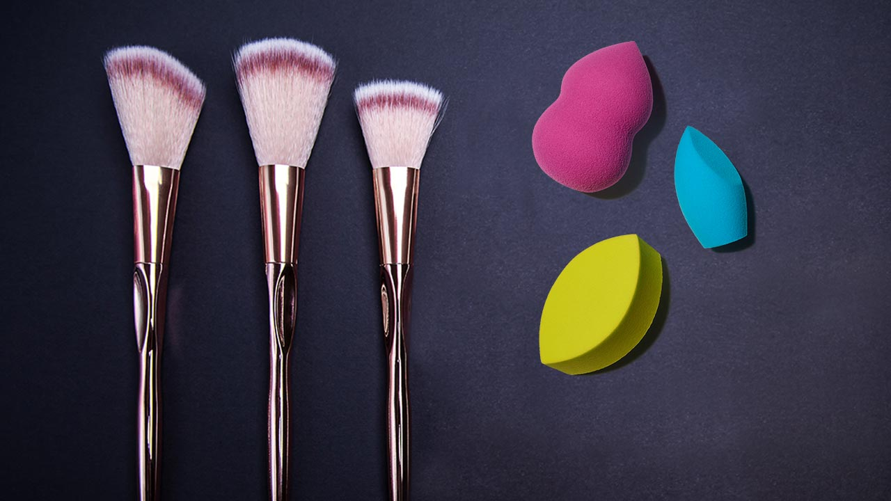 How to Clean Your Makeup Blenders and Makeup Brushes